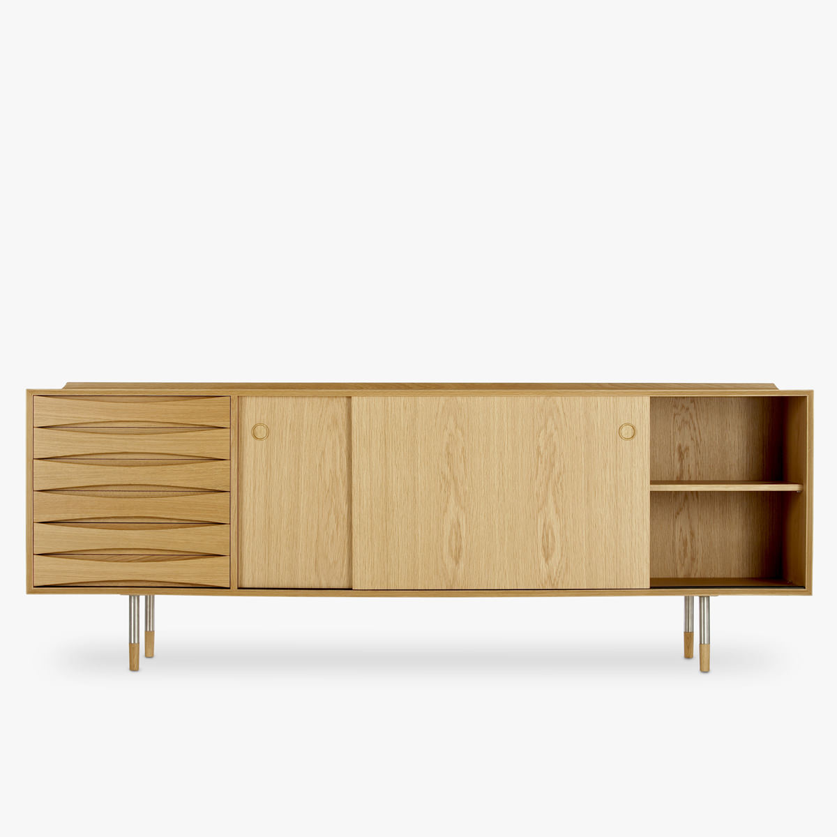 Vodder-26-Sideboard-Oak-Open2-1200