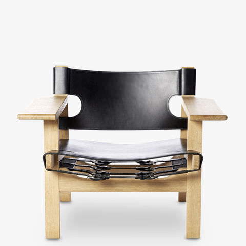 spanish chair natural leather great dane